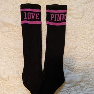 PINK Victoria's Secret Accessories - VS PINK Tube Socks (2 for $12 or 3 for $15)